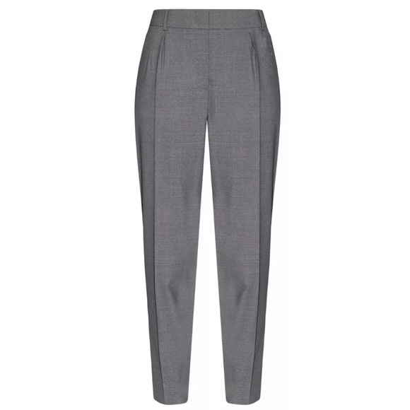 MaxMara Pants - New Max Mara Studio Gray Papy Trousers Pant Size 8